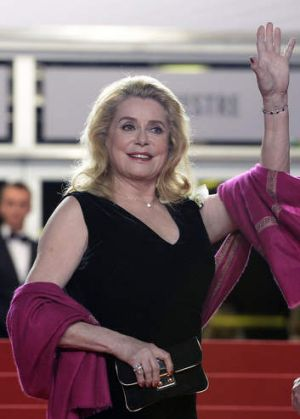 French actress Catherine Deneuve in Cannes May 21, 2013.
