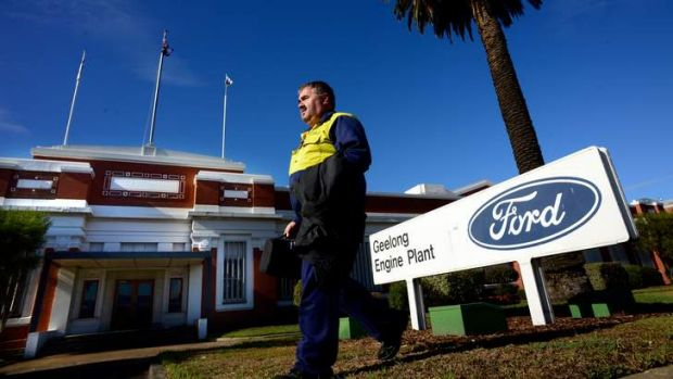 Ford will close its Geelong and Broadmeadows plants in 2016.