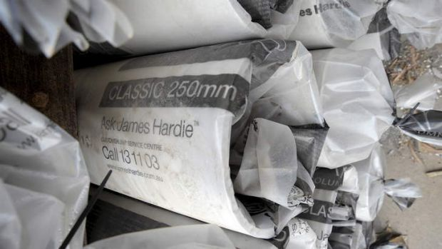 James Hardie has announced a profit fall.