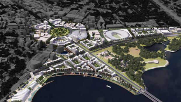 """Future developments were outlined as part of two government projects, """"The City Plan"""" and """"City to the Lake"""", unveiled ..."""
