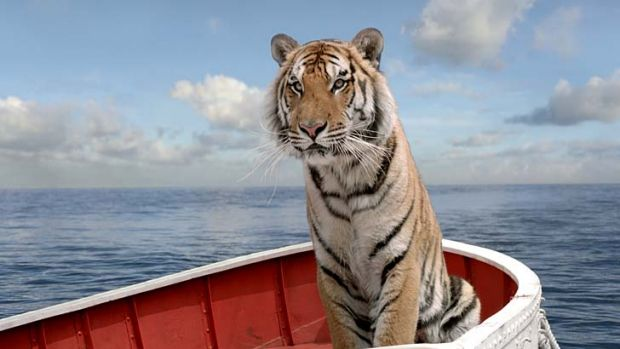 Too realistic: Richard Parker, the digital tiger in <i>Life of Pi</i>.