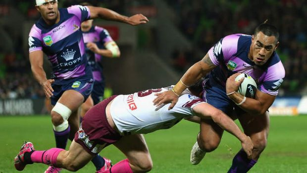 Rough around the edges: Storm winger Mahe Fonua is talented but his development is being hampered by the lack of a ...
