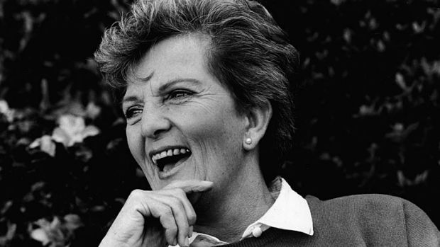 Hazel Hawke in 1987.