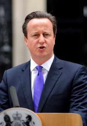 """The people who did this were trying to divide us"": David Cameron."