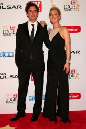 The couple at the 2013 Logies ceremony.