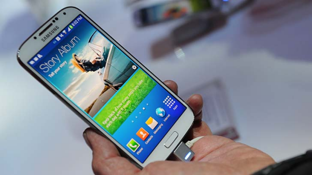 Samsung Galaxy S4: The fastest-selling Android smartphone ever.