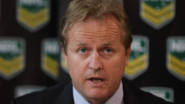 Leading the fight: NRL chief executive Dave Smith.