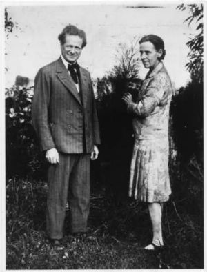 Walter Burley Griffin and his wife Marion Mahoney.