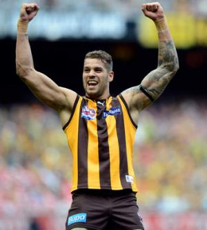 Game's biggest drawcard: Lance Franklin is a walk-up start.