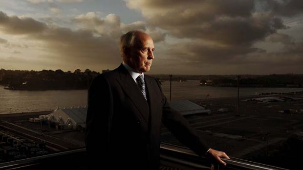 "Sydney a ""whore to stimulus"": Former PM Paul Keating."