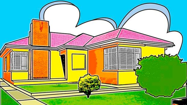 Costly: Australian house prices are high, but we're outranked by Hong Kong, Canada and France. Illustration: Jo Gay ...