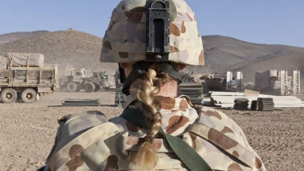 Many female ADF members who served in the Middle East have been exposed to extreme trauma.