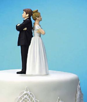 Delaying separation: Many couples are waiting until their children have left the family nest before filing for divorce.