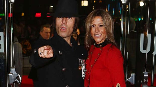 'Loudmouth': Liam Gallagher and Nicole Appleton.
