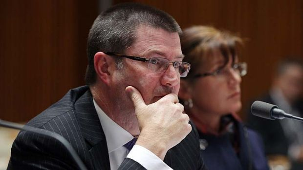 Martin Bowles: Confirmed that no asylum seekers had their claims for protection processed.