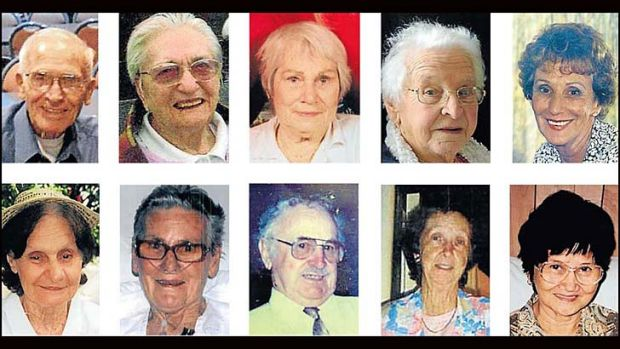 Victims: These residents died as a result of the fire and a further eight suffered from serious injuries. Firefighters ...