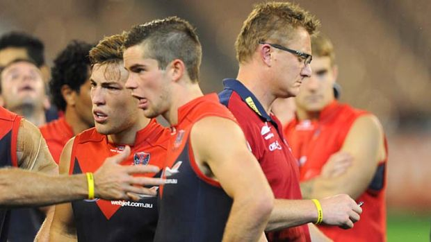 Mark Neeld looks to be on his way out at Melbourne.