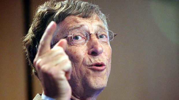 """Mr Gates said that he was ""one of those rare people who is actually for taxes"" and that the last time he was asked to ..."