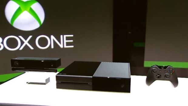 Microsoft's latest Xbox gaming console, Xbox One.