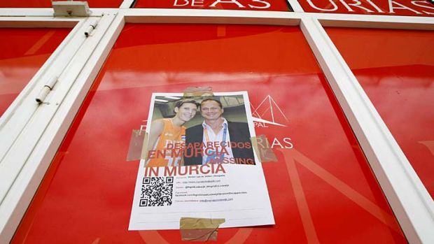 Before they were found: a poster asking for information about the whereabouts of Ingrid Visser and Lodewijk Severein.