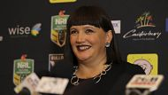 Raelene Castle is announced as the first female CEO of the Bulldogs rugby club in Canterbury, Sydney. 29th May,2013. ...