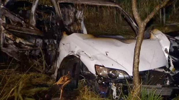 A teen has been charged over this crash north of Brisbane.