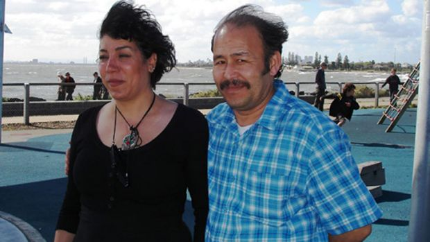 Nasir Ahmadi, right, with his wife Zahara Rahimzadegan, known as Mandy. He killed her and buried her body in the ...