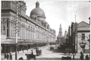 Queen Victoria Building Sydney, from the book <i>Public Sydney</i>.