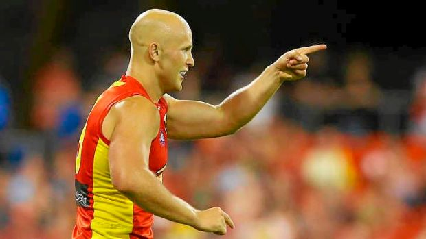 Gary Ablett of the Gold Coast Suns  - one of the game's most celebrated players.