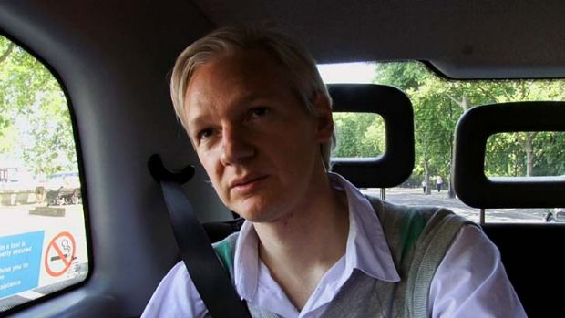 """Flawed character"": Julian Assange is the subject of Alex Gibney's new documentary."