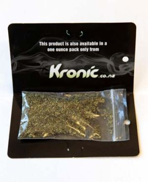 Kronic: Allegedly contains synthetic THC.