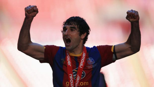 No time to celebrate: Mile Jedinak had barely qualified for the Premier League with Crystal Palace before he was due in ...