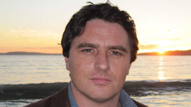Breaking new ground ... Ciaran Collins, author of <i>The Gamal</i>.
