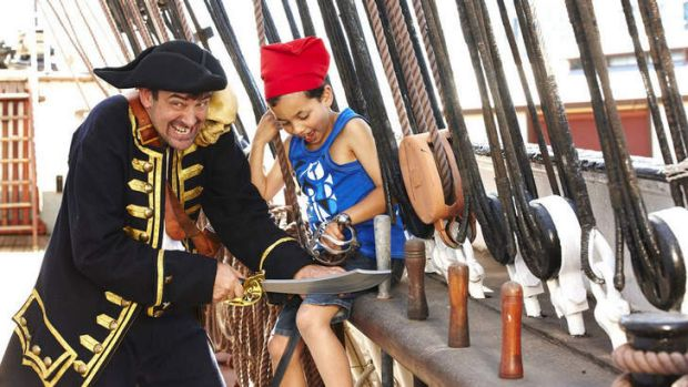 X marks the spot for fun at Polly Woodside's Pirate Sundays.