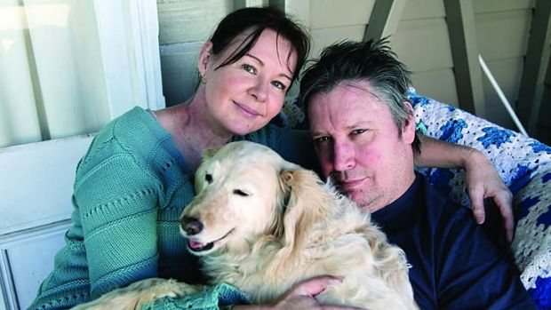 Happy man: Jeremy Oxley with wife Mary. The Sunnyboys guitarist is the focus of a documentary on his recovery from ...