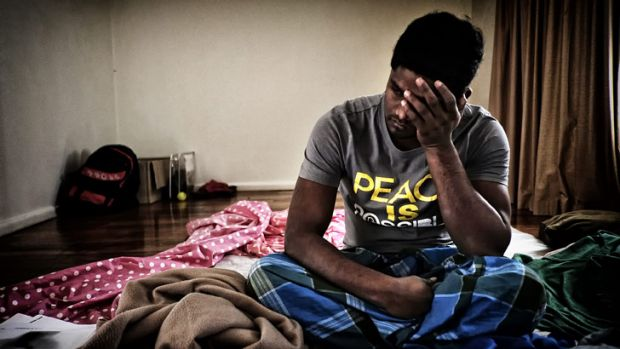 Sunshine resident 'Kumar' is one of 2775 refugees living without support on a community detention visa