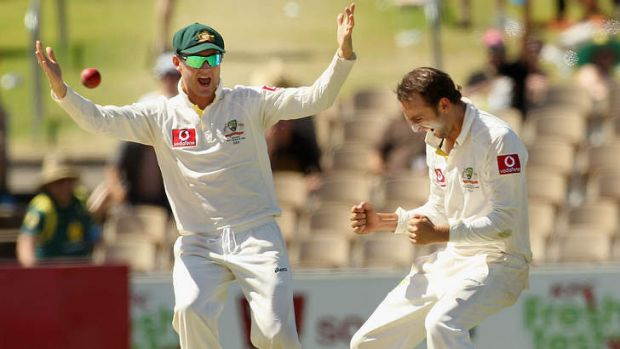 Windfall: Australian players such as Michael Clarke and Nathan Lyon are set to benefit from the TV deal.