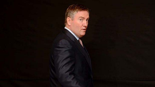 King Kong crack: Eddie McGuire faces the media after his on air gaff about Adam Goodes.