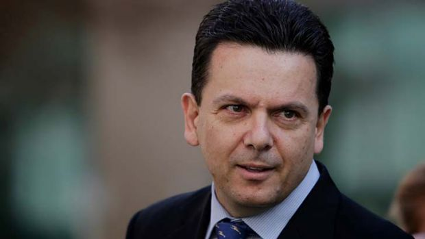 """No extreme urgency"" for ad campaign: Independent senator Nick Xenophon."