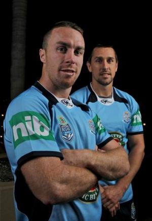 Double trouble: James Maloney and Mitchell Pearce have revitalised the Roosters this season and now have the chance to ...