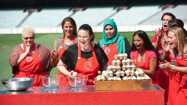 MCG and eggs seems to mix, with <i>MasterChef</i>'s season five getting off to a strong start.