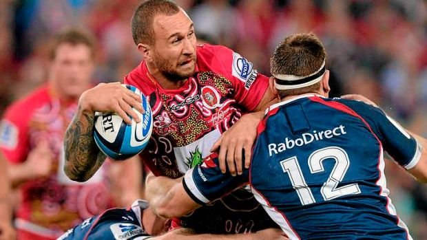 Quade Cooper, with his passing game, is expected to add width to the Wallabies backline play.