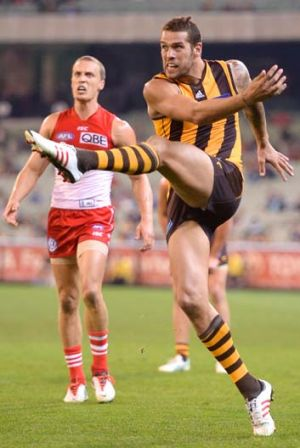 Lance Franklin: two teams?