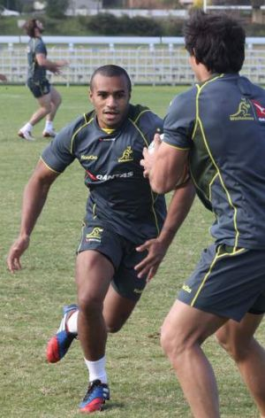 Ready to go: Will Genia training on Tuesday.