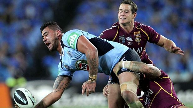Andrew Fifita has had his dramas off the field but is a must for the Blues' bench.