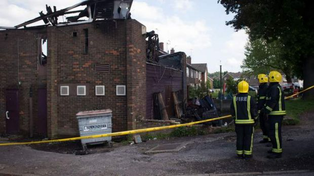 Counter-terrorism officers are investigating a suspicious fire at a Somali community centre in north London where ...