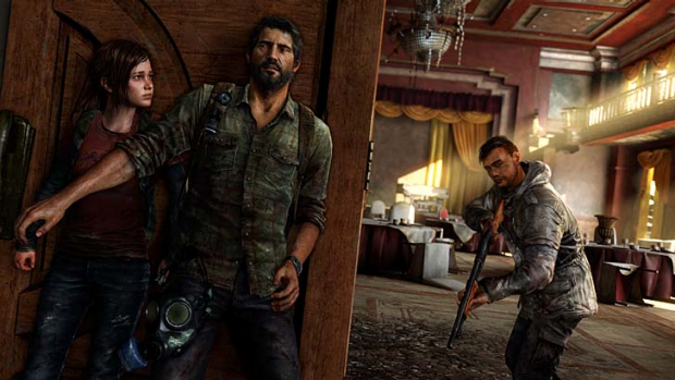 A screenshot from The Last Of Us.