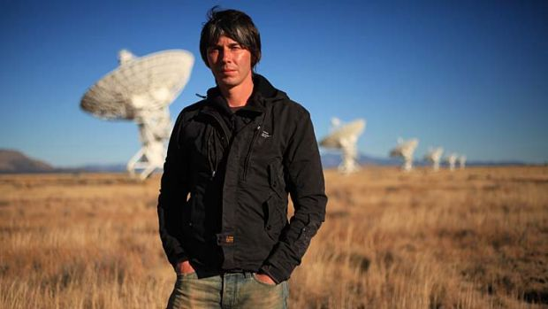 """I've always thought scientists should be celebrities"": British pop star turned particle physicist Brian Cox."