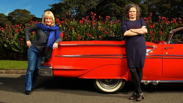 Making merry: Denise Scott and Judith Lucy have drawn from their long-standing friendship for their next two-woman show, ...