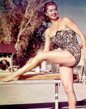 Bathing beauty: Actor and swimming champion Esther Williams in her heyday.